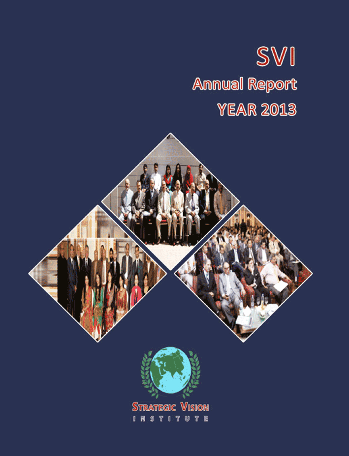 SVI Annual Report 2013