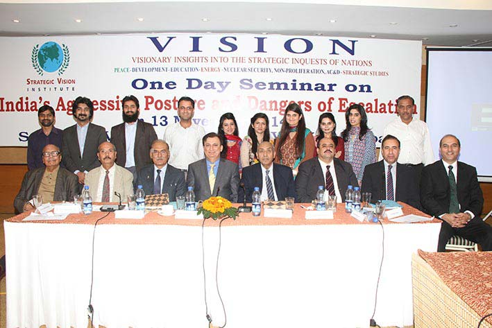 One Day Seminar on Indian Aggressive Posture and Dangers of Escalation