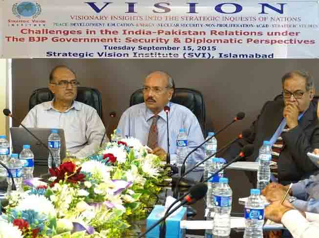 Challenges in the India-Pakistan Relations Under BJP Government: Security and Diplomatic Perspectives on 15th September 2015