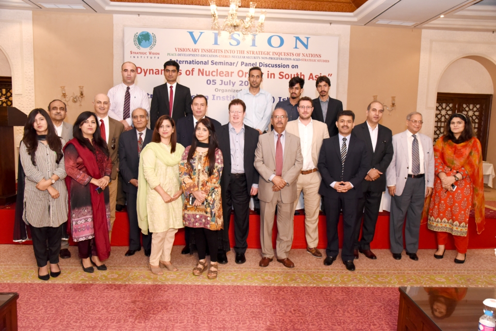 Report on SVI- International Seminar (Bi-monthly Seminar Series) Dynamics of Nuclear Order in South Asia