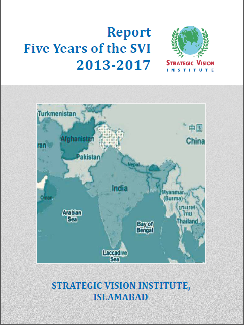 Report Five Years of the SVI 2013-2017