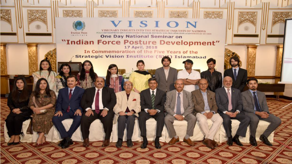Indian Force Posture Development SVI One Day National Seminar (Bi-monthly Series): Report – April 17, 2018