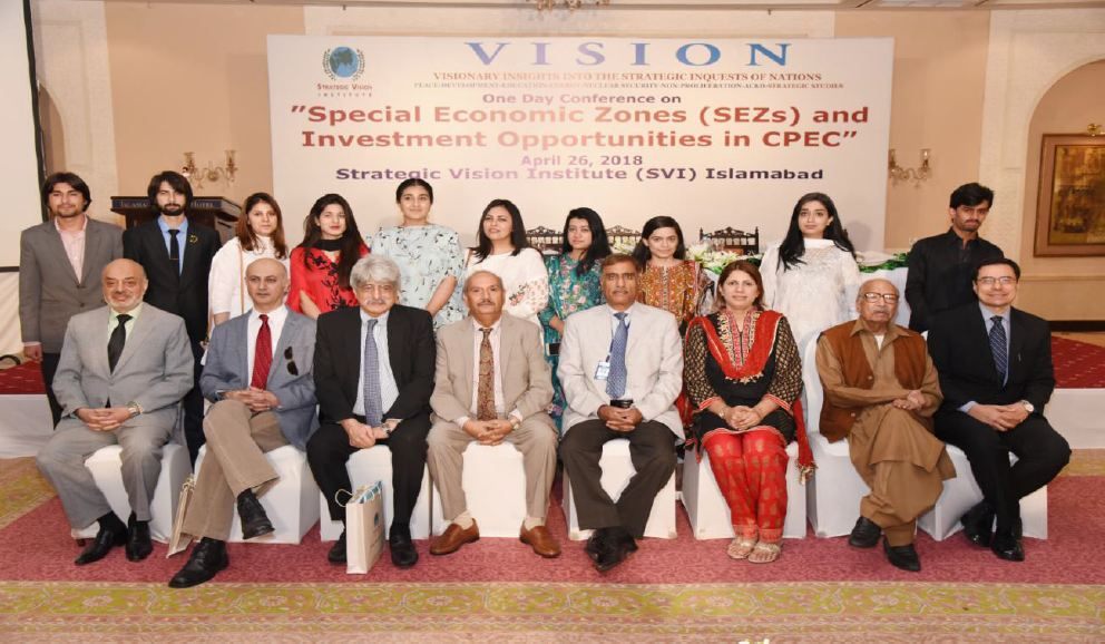 Special Economic Zones (SEZs) and Investment Opportunities in CPEC April 26, 2018