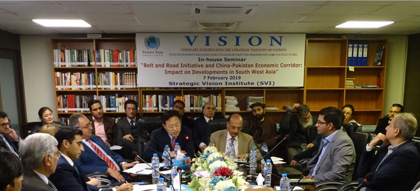 BRI and CPEC: Impacts on Developments in South West Asia