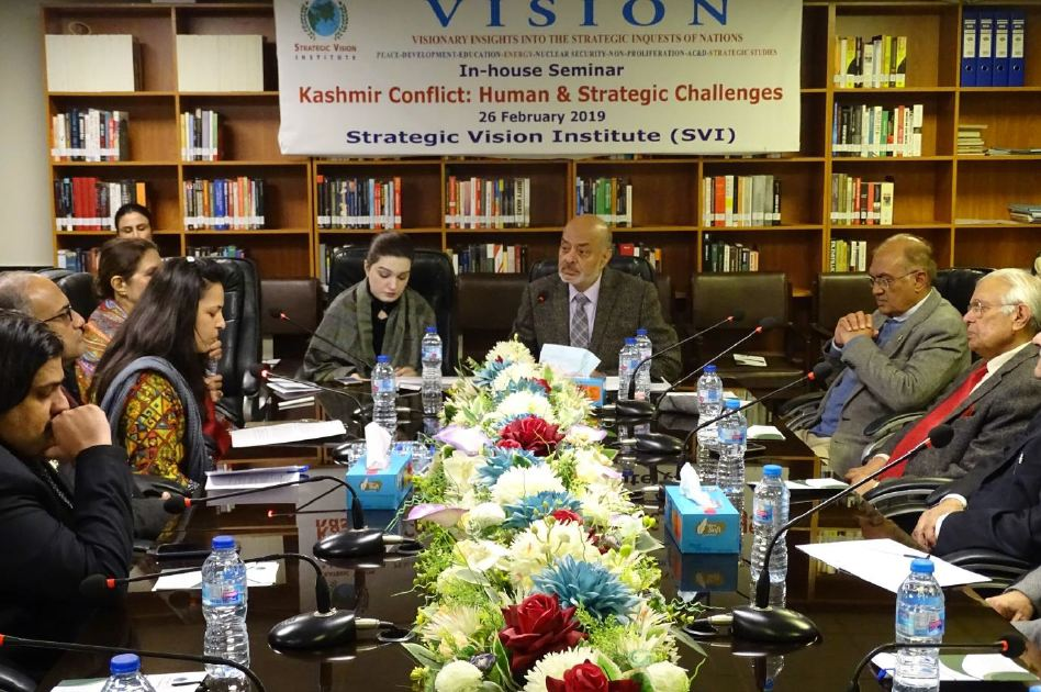 SVI In-house Seminar/Panel Discussion: Report – February 26, 2019 Kashmir Conflict: Human and Strategic Challenges
