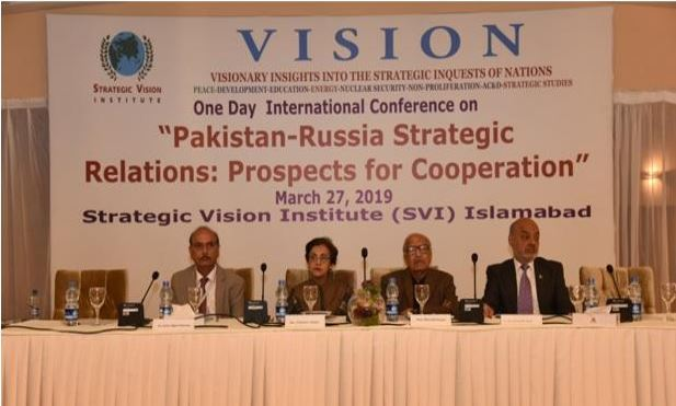 SVI One-day International Conference: Report – March 27, 2019 Pakistan-Russia Strategic Relations: Prospects for Cooperation