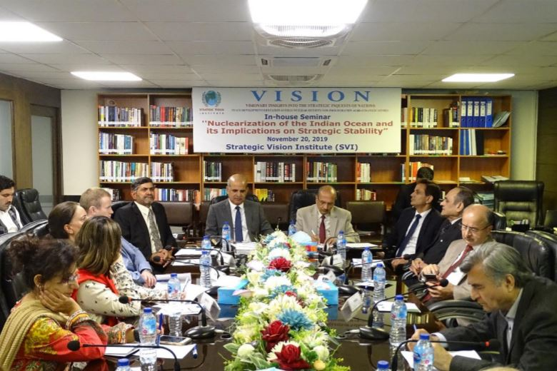 SVI In-House Roundtable Discussion: Report – 20thNovember 2019 – Nuclearization of the Indian Ocean and its Implications on Strategic Stability
