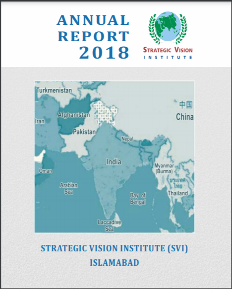 SVI Annual Report 2018 – Cover