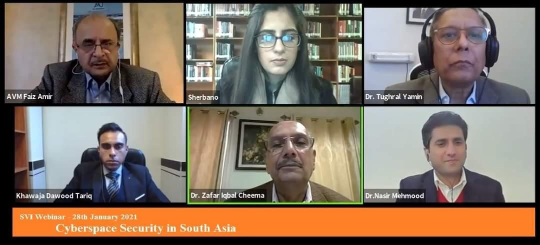 SVI Webinar On Cyber Space Security in South Asia