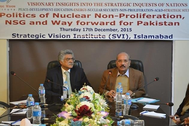 Politics of Nuclear Non-Proliferation, NSG and Way Forward on 17th December 2015